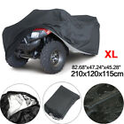 190T Waterproof ATV Cover Universal UV Water Resistant 4 Wheel Fits up to 800cc