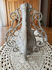 Antique Garden Gate Fence Architectural Salvage Finial Ornate Openwork Cast Iron