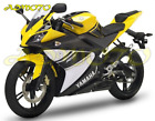 Injection Molding Fairing Kit Bodywork For Yamaha YZF-R125 2008-2013 Yellow