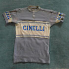 Vintage Cinelli cycling jersey 1950s meriono wool