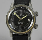 Vintage FORTIS Super Compressor Automatic Men's Stainless Steel Diver Watch