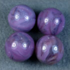 4 VINTAGE ALLEY AGATE OR CHAMPION AGATE LAVENDER SWIRL MARBLES