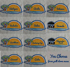 Travel Destination Cruise Vacation Die Cut Title Scrapbook Choose from Lot 1