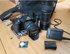 Olympus E-520 with 14-42mm 40-150mm plus CF 2GB card