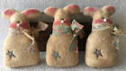 Primitive Ornies EASTER Bunnies Bowl Fillers Make Do's Prim Ornies Tucks