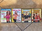 4 CARDIO WORKOUTS ON DVD DENISE AUSTIN TAMILEE THE BIGGEST LOSER FREE SHIP
