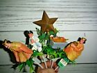 15 Vintage Plastic Hong Kong Nativity Christmas Plant Pokes