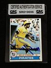 HOF WILLIE STARGELL 1979 TOPPS SIGNED AUTOGRAPHED CARD #55 PIRATES CAS AUTHENTIC