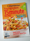 Weight Watchers Five Ingredient 15 Minute Recipes Special Edition Magazine