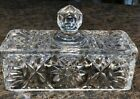Butter Dish Top With Handle Early American Pressed Cut Glass Top Only