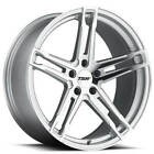 4pcs 19 Staggered TSW Wheels Mechanica Silver Forged Rims