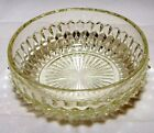 Indiana Glass Candy Dish Bowl Clear Diamond Point