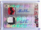 2014 Mike Evans RC Bowman Sterling Auto Prism Refractor 4 Color Patch 44 Rookie