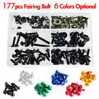 Cnc Fairing Bolts Kit Bodywork Screws Nut For Aprilia Pegaso Rs50 Rs125 Rs250