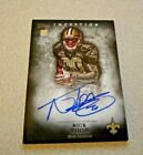 2012 Topps Inception Football Cards 20