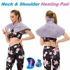 Neck and Shoulder HEATING PAD Muscle Relaxer Back Pain Relief Heat Therapy Wrap