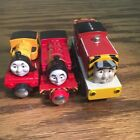 Victor Salty & Duncan Trains Thomas & Friends Wooden Railway Metal Tank Engines