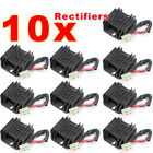 10pcs 4 Wires Voltage Regulator Rectifier fit GY6 50 150cc Scooter Moped JCL NST