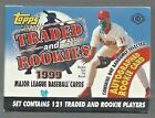 1999 Topps Traded and Rookies Baseball Hobby Factory Set w 1 Autograph Rookie