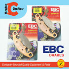 FOR 1991 - 1993 SUZUKI GSX 1100 G - FRONT EBC HH SINTERED BRAKE PADS - 2 PAIR