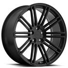 4Rims 18 Staggered TSW Wheels Crowthorne Matte Black Rims