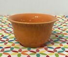 Fiestaware Tangerine Bouillon Bowl Fiesta Retired Orange Prep Cup