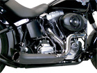 SuperTrapp Phantom II Black Exhaust System 138 71680 Softail Made In USA