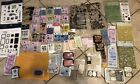 TECHNIQUE TUESDAY Clear Acrylic Stamp Big Lot Over 70 Pieces Ink MSE Tim Holtz