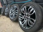 21 inch 507 Genuine Range rover Sport or Vogue alloy wheels Gloss black