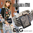 Dolce & Gabbana silver crystal bracelet watch - Sale !!