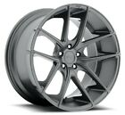 4 New 17 Niche Wheels M129 Targa Anthracite Rims FS