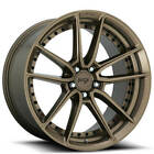 New4 22 Staggered Niche Wheels M222 DFS Bronze Rims FS