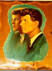 Alton Tobey Portrait JFK & RFK 1968 Brother United Signed Print Wall Wood Plaque