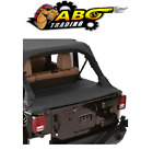 Smittybilt For 04 06 Wrangler LJ Jeep Tonneau Cover in Black Diamond 761135