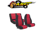 Smittybilt For 76 90 Jeep CJ7  Wrangler YJ Neoprene Seat Cover Set 471030