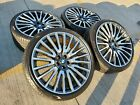 21 BMW 740i 750i OEM 7 Series black wheels rims tire 86289 86291 2017 2018 2019