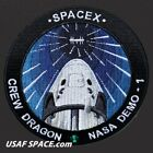 NEW SPACEX SpX D 1 NASA Demo 1 Crew Dragon ORIGINAL Dragon Capsule Mission PATCH