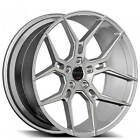 4Rims 20 Staggered Giovanna Wheels Haleb Silver Machined Rims FS