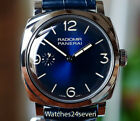 Panerai PAM 932 Radiomir 1940 Midnight Blue Dial 3 Day Acciaio 47mm