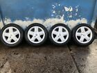 Renault Clio Twingo 15 Inch 5 Spoke Alloy Wheels And Tyres