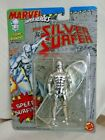 Silver Surfer with Surf Board Marvel Super Heroes Toy Biz 1992 Action Figure
