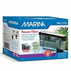 Marina Power Filter for Aquariums Fish Tank up to 10 Gallons, Fast Ship
