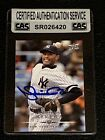 MARIANO RIVERA 2008 UPPER DECK SIGNED AUTOGRAPHED CARD 586 YANKEES CAS AUTHENTIC