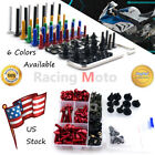 Alloy Complete Fairing Bolts Screws Body Kits Nuts For BMW HP2 SPORT 2008-2011