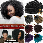 Jamaican Bounce Jumpy Wand Curl Crochet Braids Real Soft Hair Extensions Ombre Z
