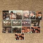 1964 TOPPS BEATLES COLOR SERIES LOT OF 15 CARDS