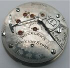 18s Hamilton Private Label Highly Damaskeen Openface Movement. Spare Or Parts