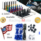 Complete Fairing Bolt Kit M5 M6 For Aprilia GPR125 RS125 RSV4 APRC RF RSV1000R