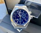 Vacheron Constantin Overseas Dual Time Blue Watch 42mm-47450-Full set-Rare