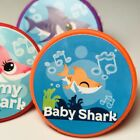 Baby Shark Cupcake Toppers Rings Birthday Party Favors Set of 24